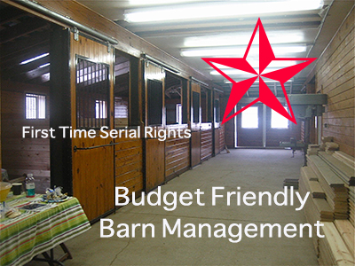 Budget Friendly Barn Management